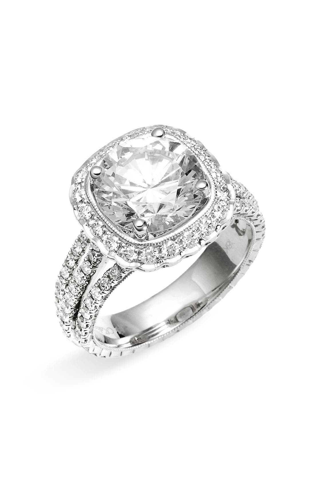 Alternate Image 1 Selected - Jack Kelége 'Romance' Diamond Engagement Ring Setting