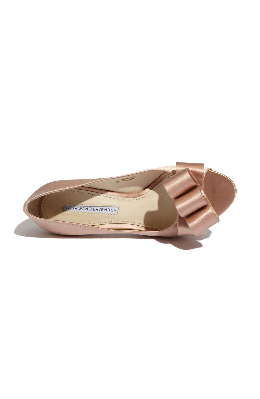 Alternate Image 3  - Vera Wang Footwear 'Sammy' Peep Toe Pump