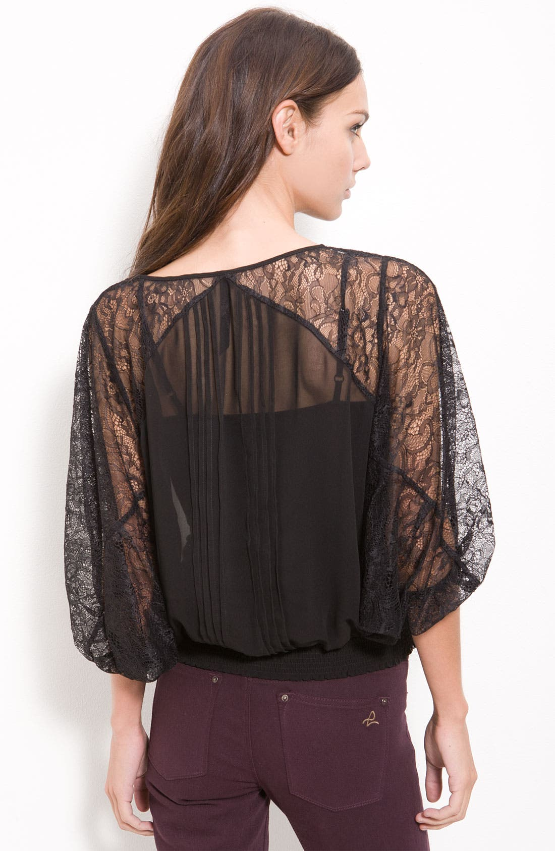 Alternate Image 2  - Bellatrix Lace & Chiffon Top