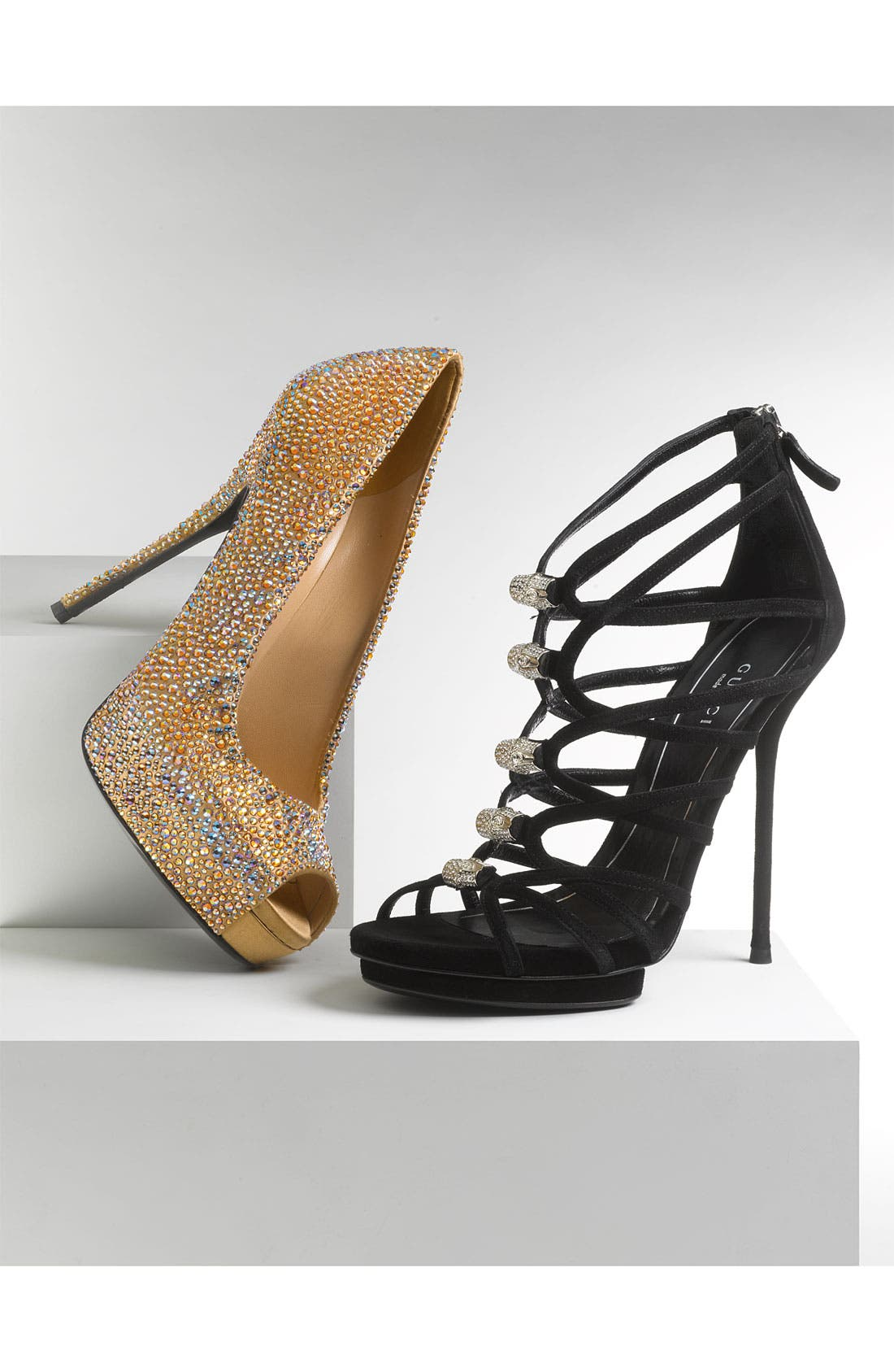 Alternate Image 4  - Gucci 'Jenna' Caged Platform Sandal