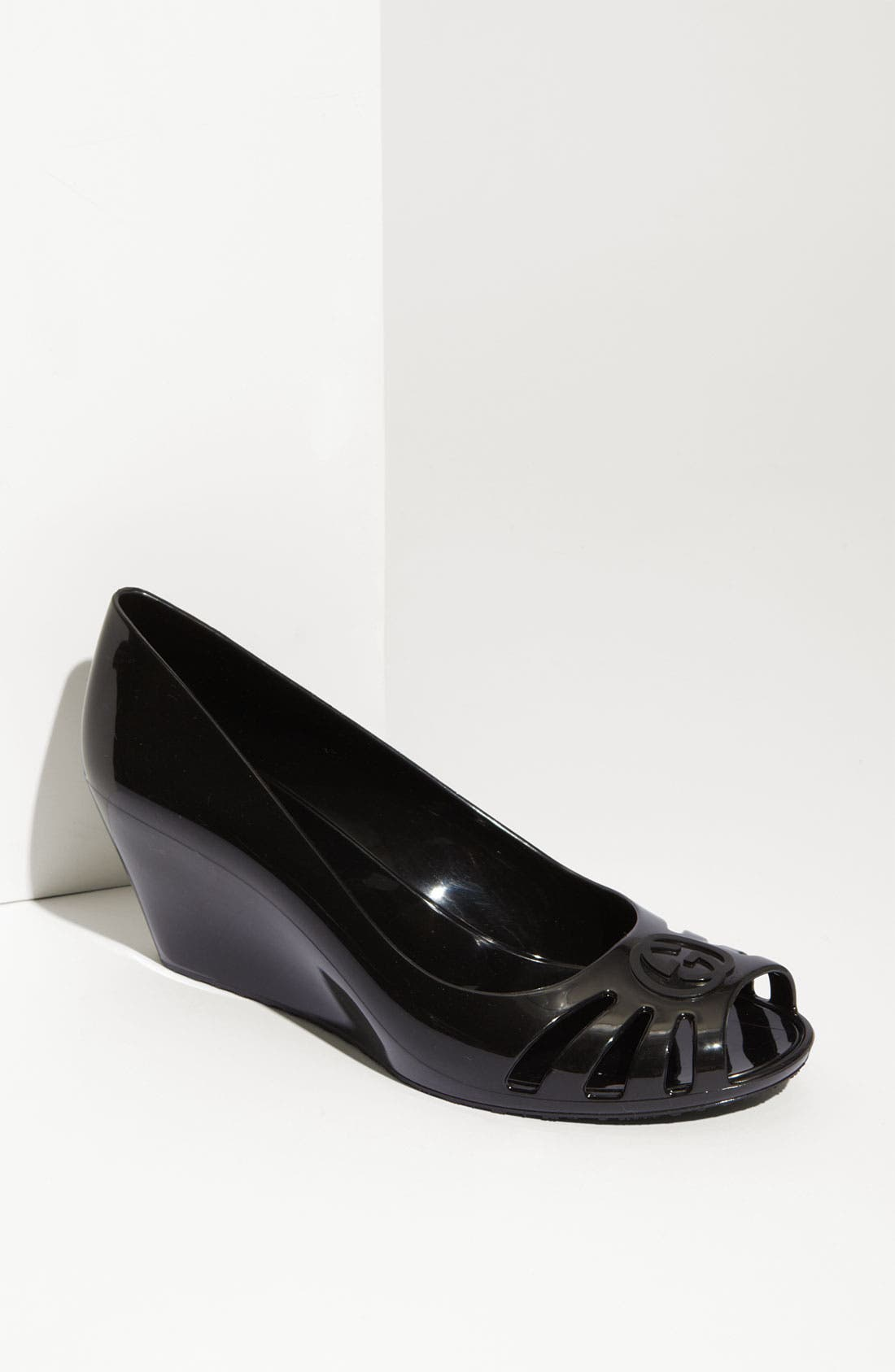 Alternate Image 1 Selected - Gucci 'Marola' Rubber Wedge