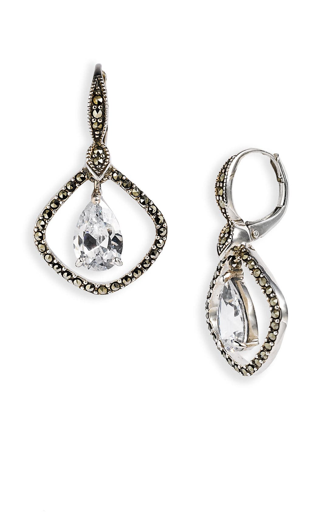Alternate Image 1 Selected - Judith Jack 'Winter Ice' Drop Earrings