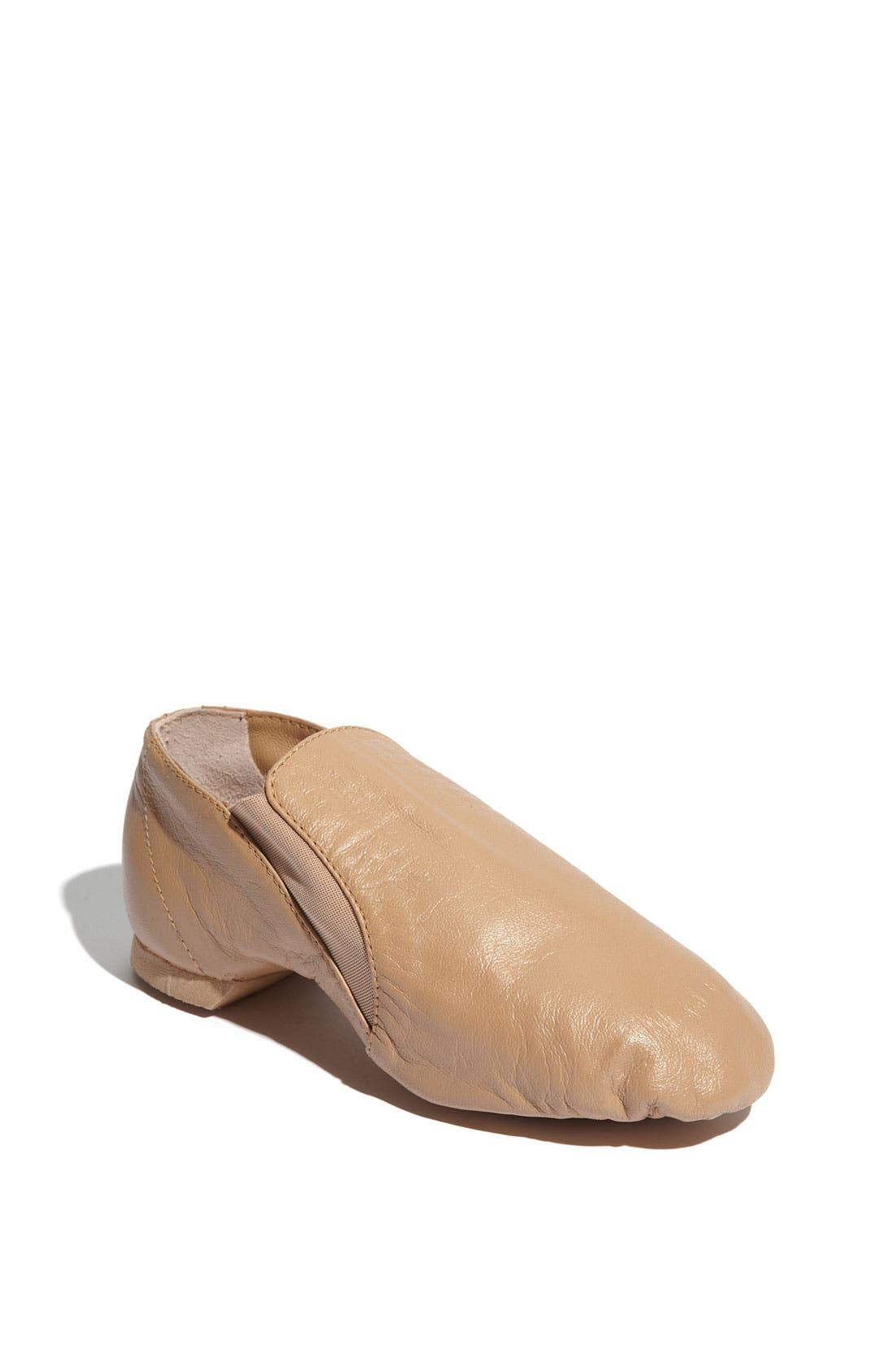 Alternate Image 1 Selected - Bloch 'Elasta Bootie' Jazz Shoe (Toddler, Little Kid & Big Kid)