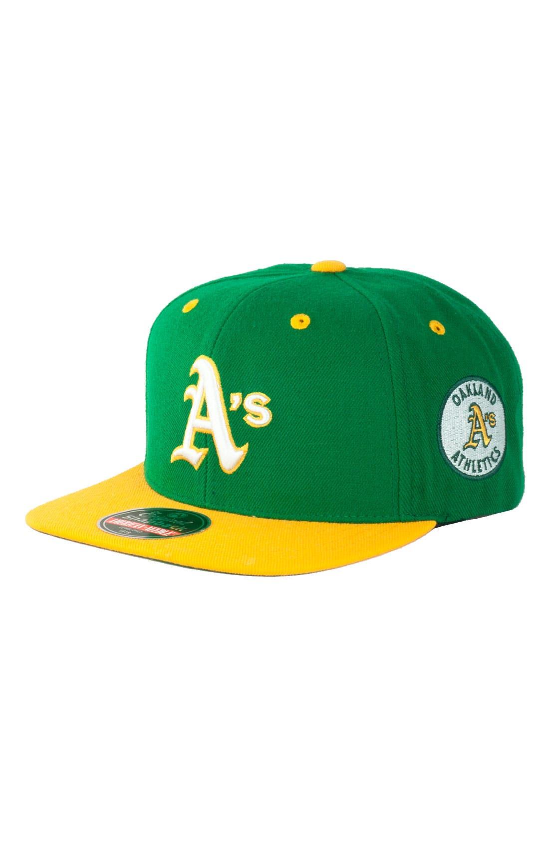 Main Image - American Needle 'Blockhead A's' Snapback Baseball Cap