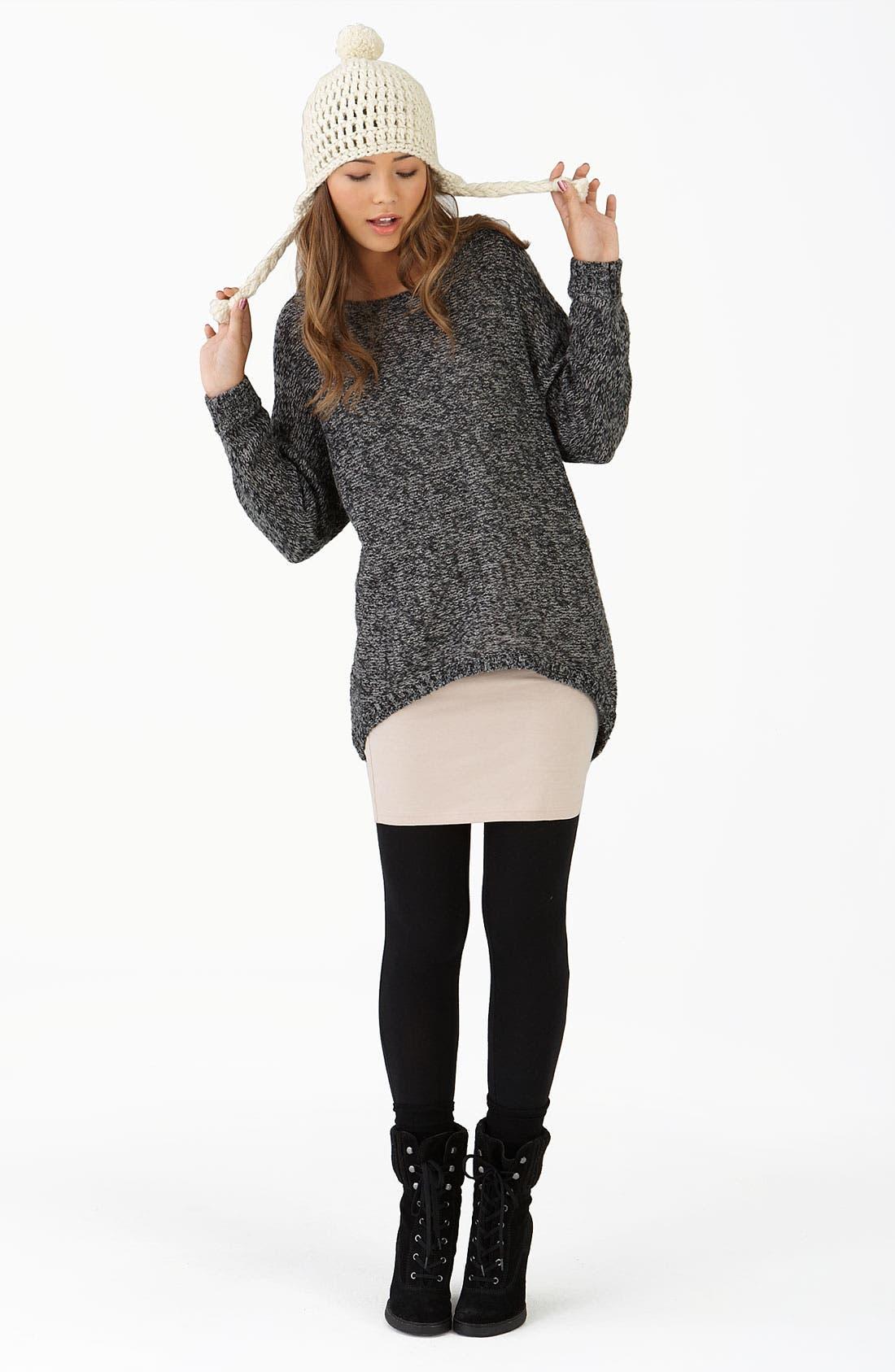 Alternate Image 1 Selected - Rubbish® Tunic, BP. Dress & Leggings