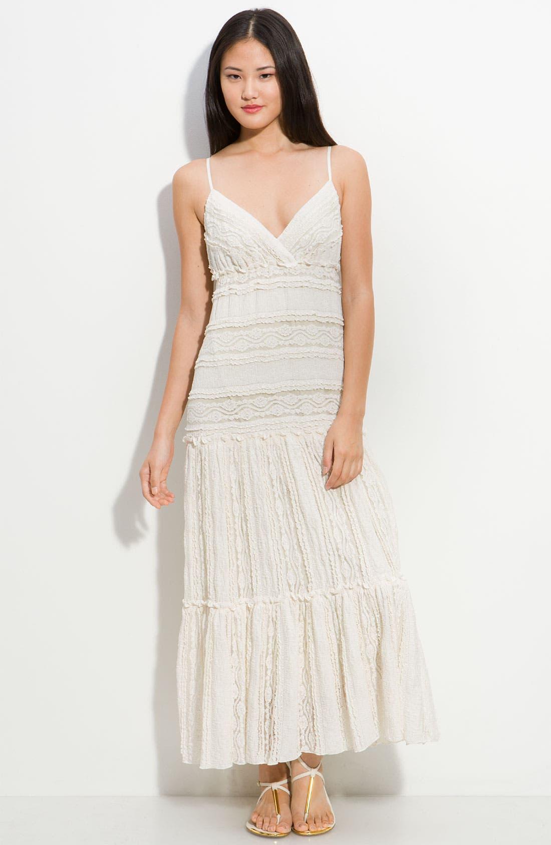 Alternate Image 1 Selected - Eliza J Lace Maxi Dress