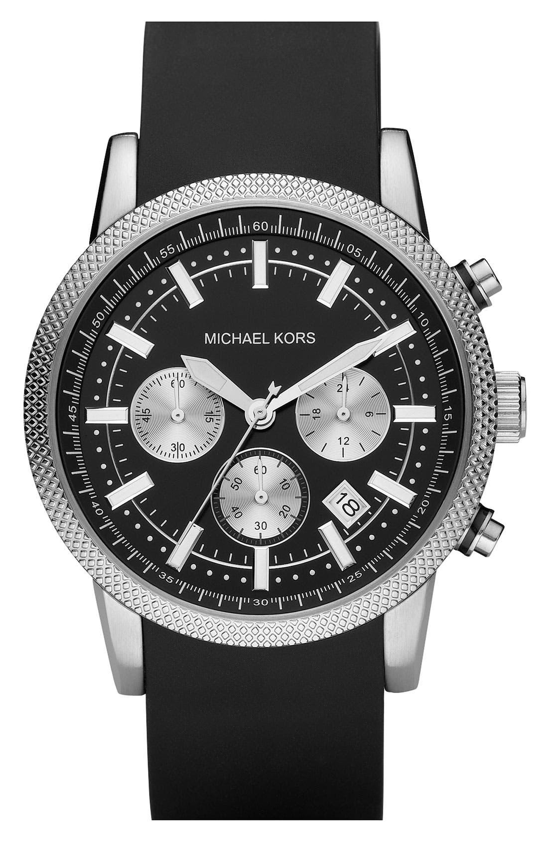 Main Image - Michael Kors 'Scout' Chronograph Watch, 43mm