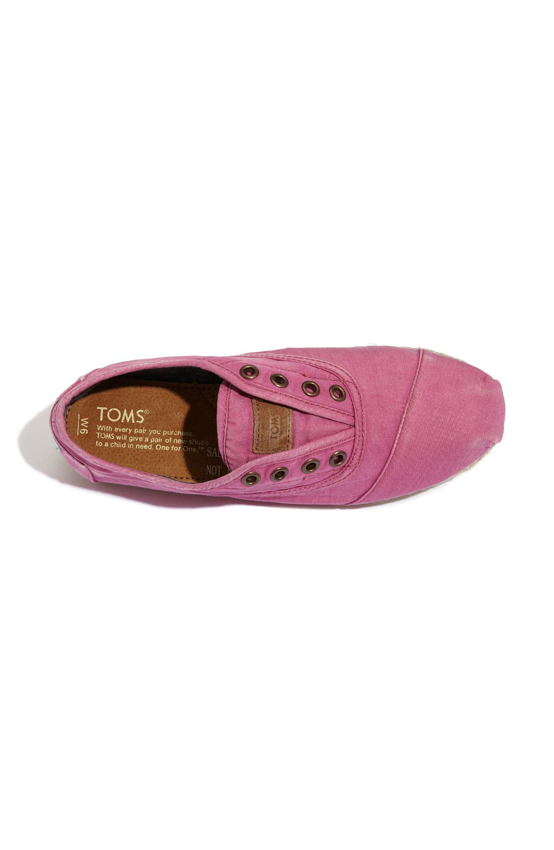 Alternate Image 3  - TOMS 'Cordones - Ceara' Slip-On (Women)
