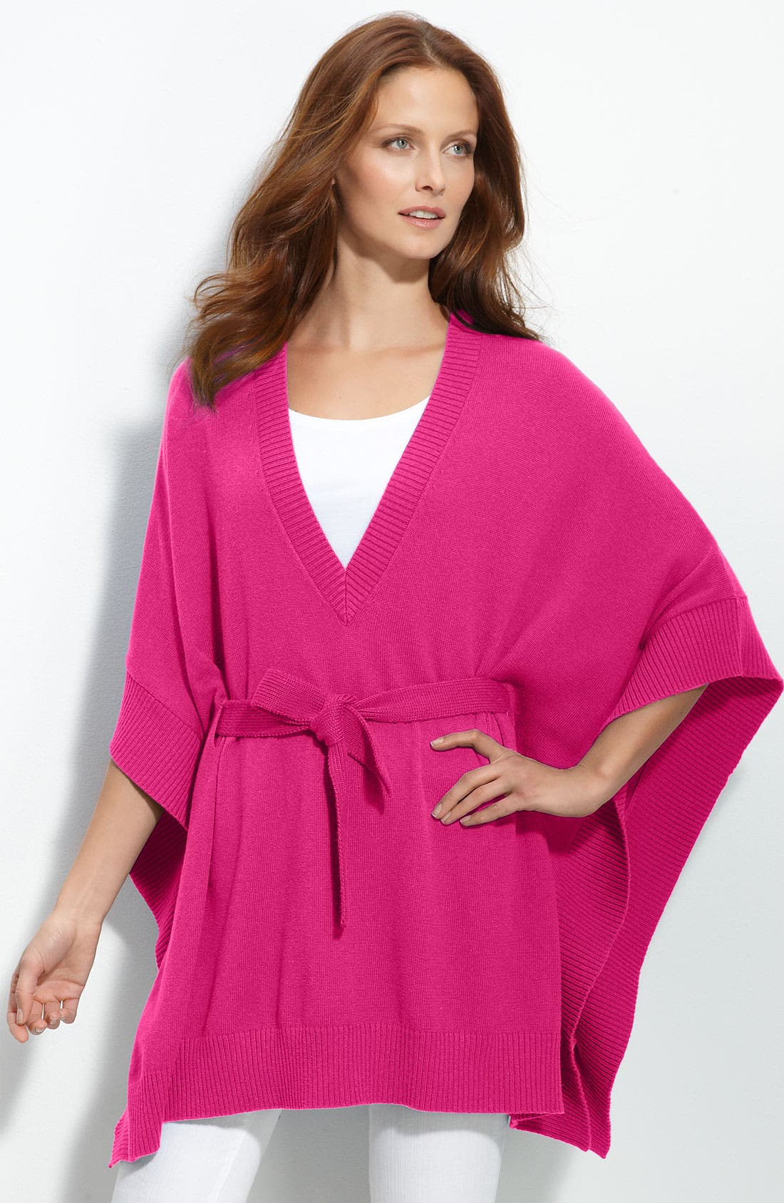 Alternate Image 2  - MICHAEL Michael Kors V-Neck Poncho
