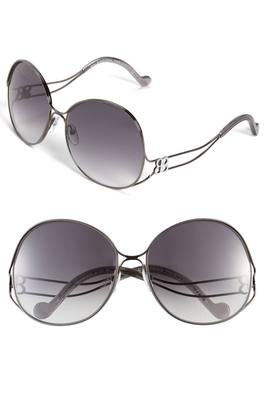 Main Image - Balenciaga Paris Oversized Sunglasses
