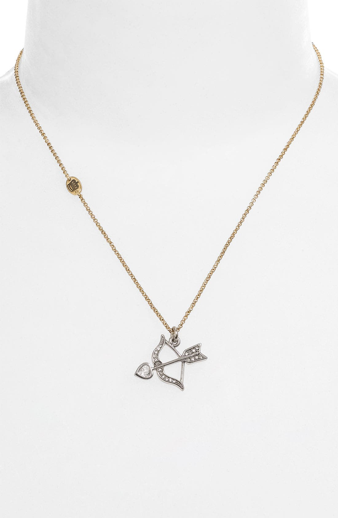 Main Image - Juicy Couture 'Couture is Love' Boxed Necklace