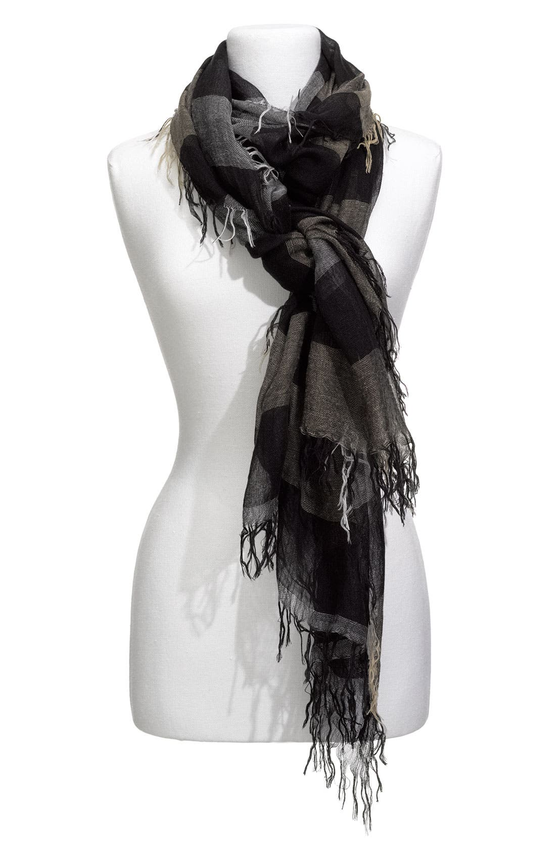 Alternate Image 1 Selected - Collection XIIX 'Marilyn' Oversized Strip Scarf