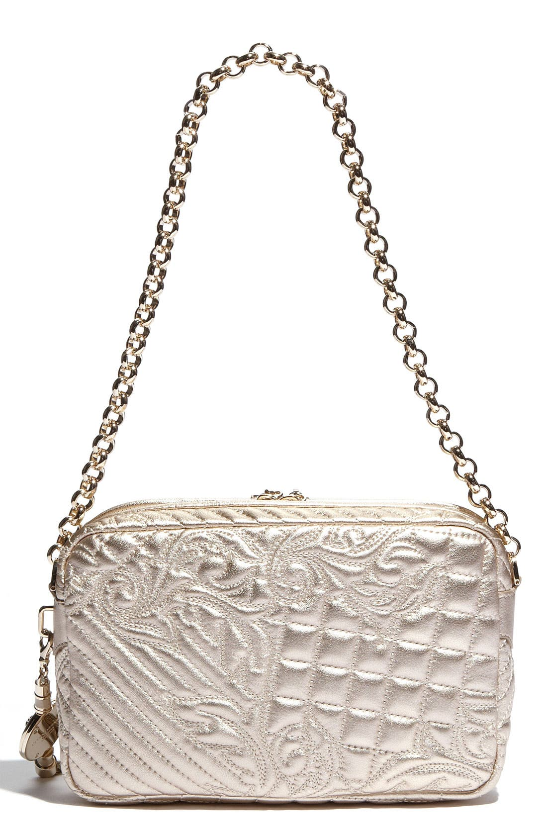 Alternate Image 4  - Versace 'Vanitas' Embroidered Leather Shoulder Bag