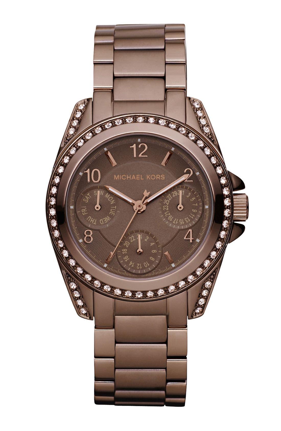 Alternate Image 1 Selected - Michael Kors 'Blair' Multifunction Watch