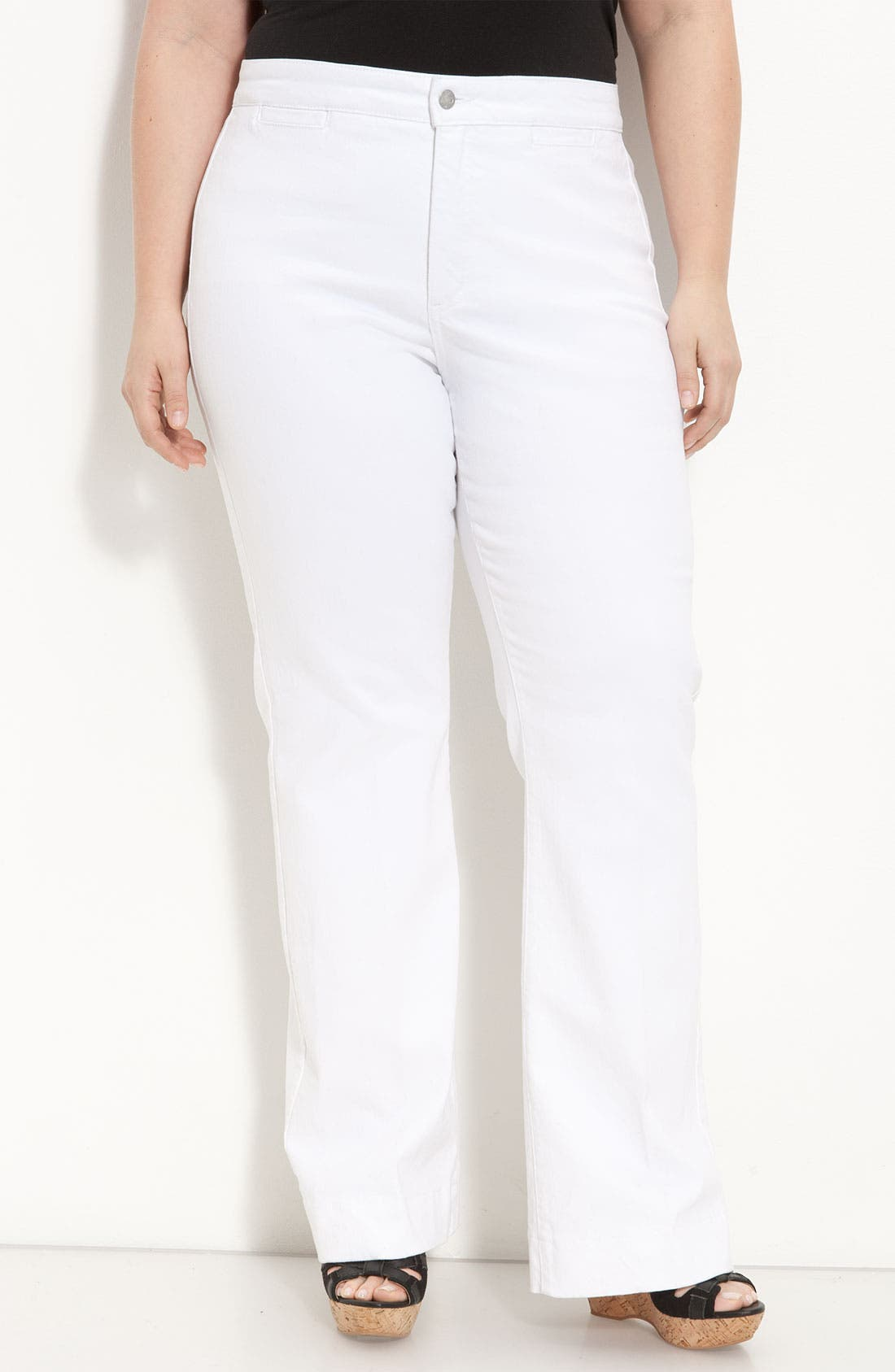 Alternate Image 1 Selected - NYDJ 'Michelle' Trousers (Plus)