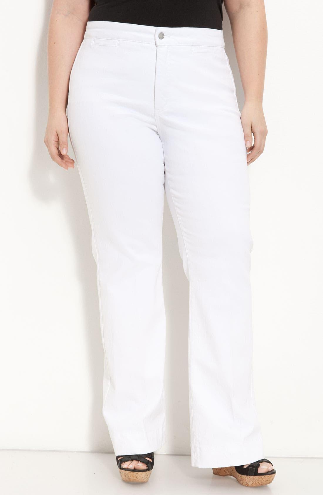 Main Image - NYDJ 'Michelle' Trousers (Plus)