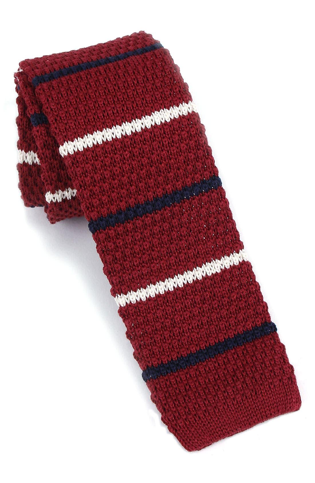 Alternate Image 1 Selected - 1901 Skinny Knit Tie