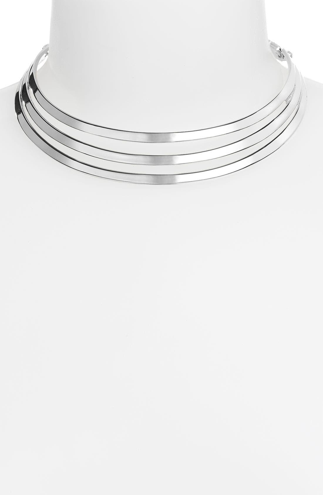 Alternate Image 1 Selected - Jewelry Fashions Choker Statement Necklace