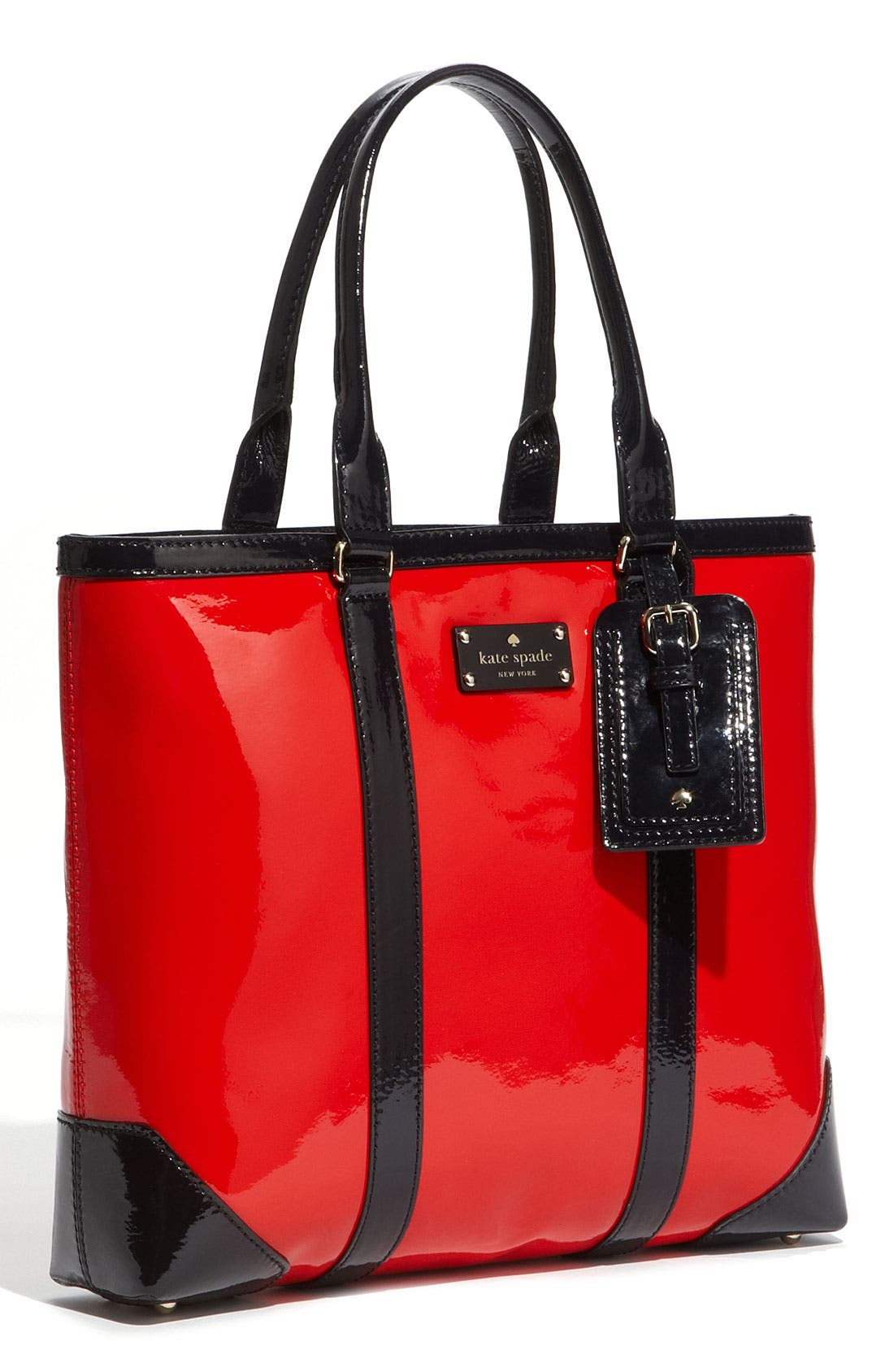 Alternate Image 1 Selected - kate spade new york 'barclay street - dama' patent leather tote