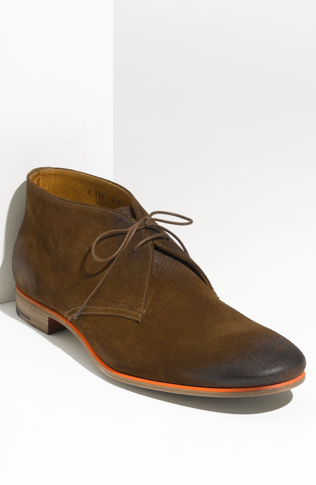 Alternate Image 1 Selected - Prada Plain Toe Chukka