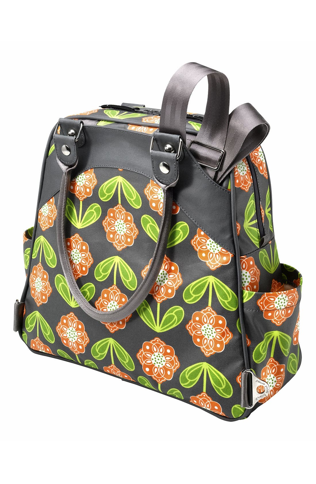 Alternate Image 4  - Petunia Pickle Bottom 'Glazed Sashay' Convertible Diaper Bag/Satchel