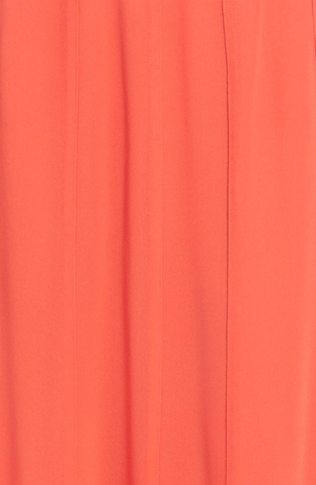 Alternate Image 3  - Hinge® Sheer Chiffon Maxi Skirt