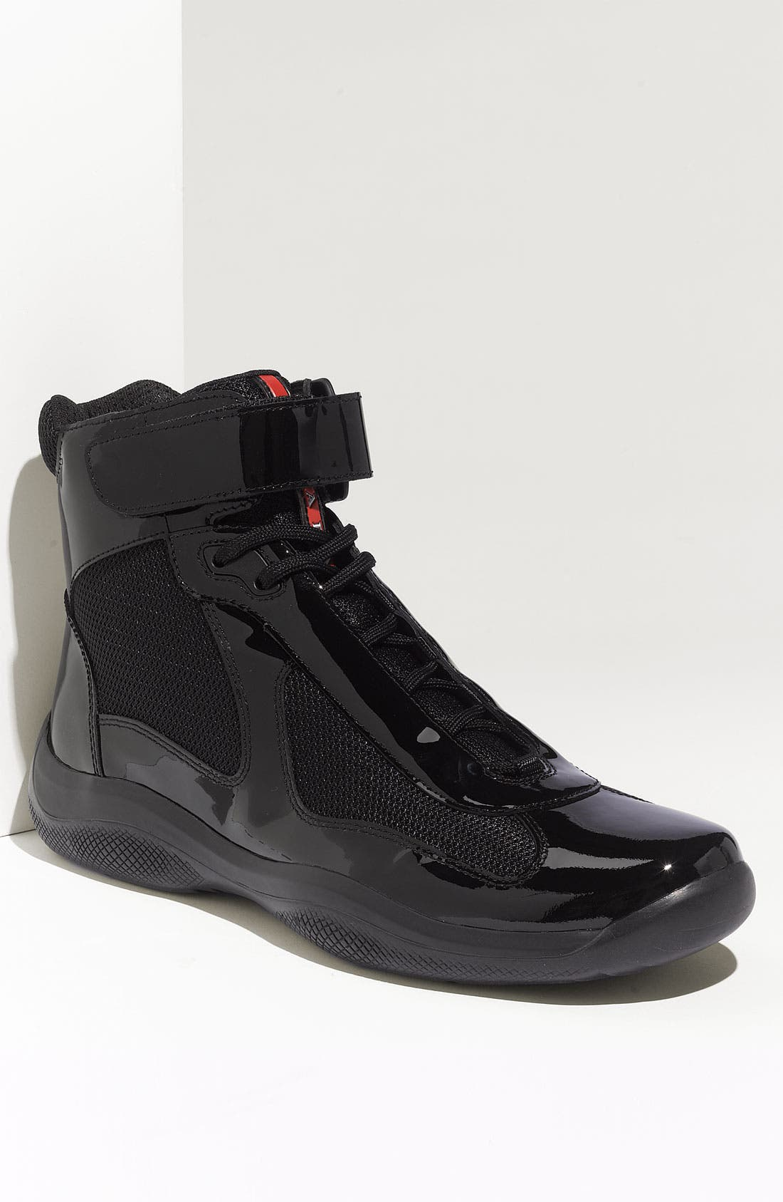Alternate Image 1 Selected - Prada 'America's Cup' High Top Sneaker (Men)
