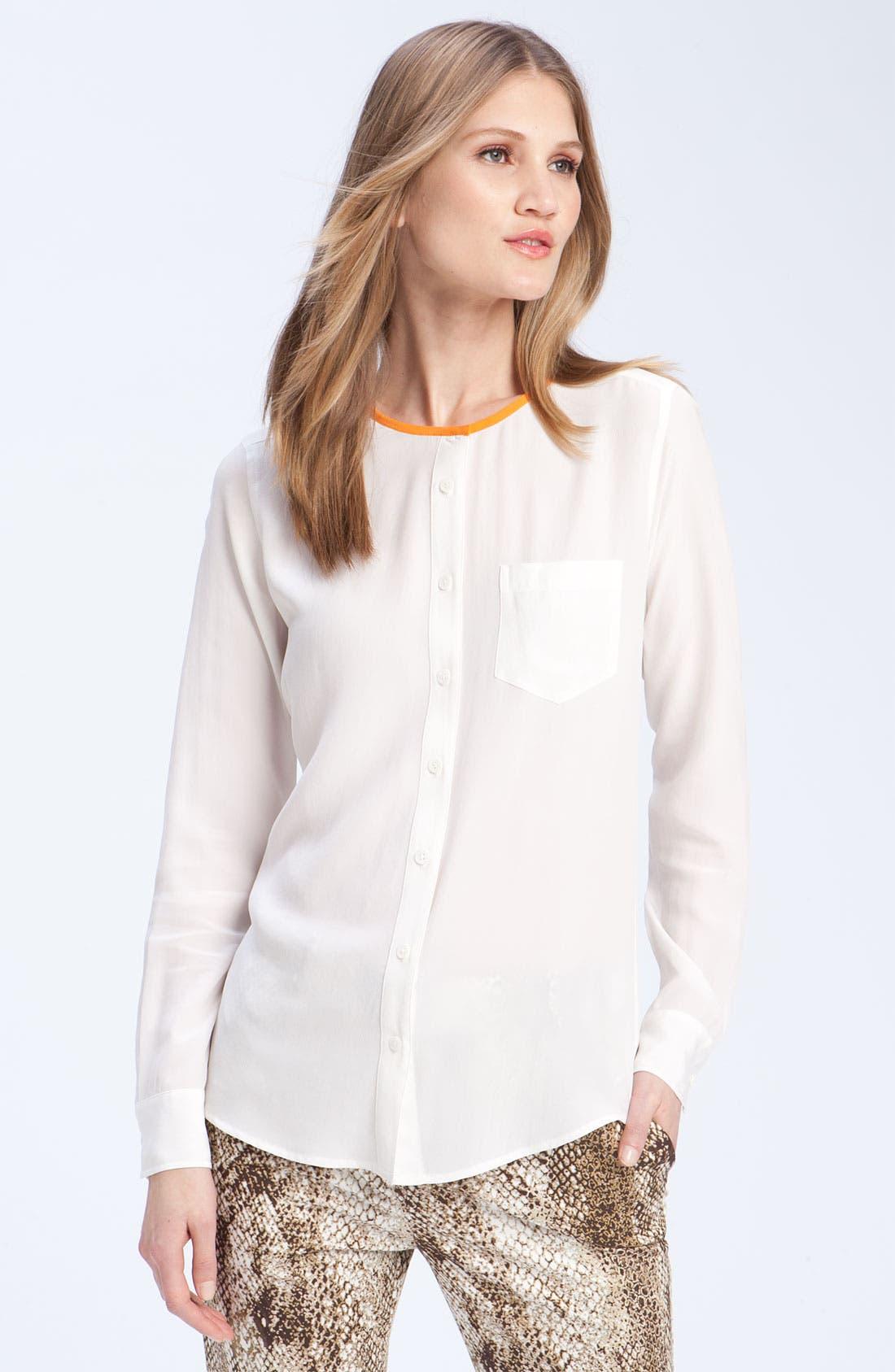 Alternate Image 1 Selected - Equipment 'Julian' Silk Shirt