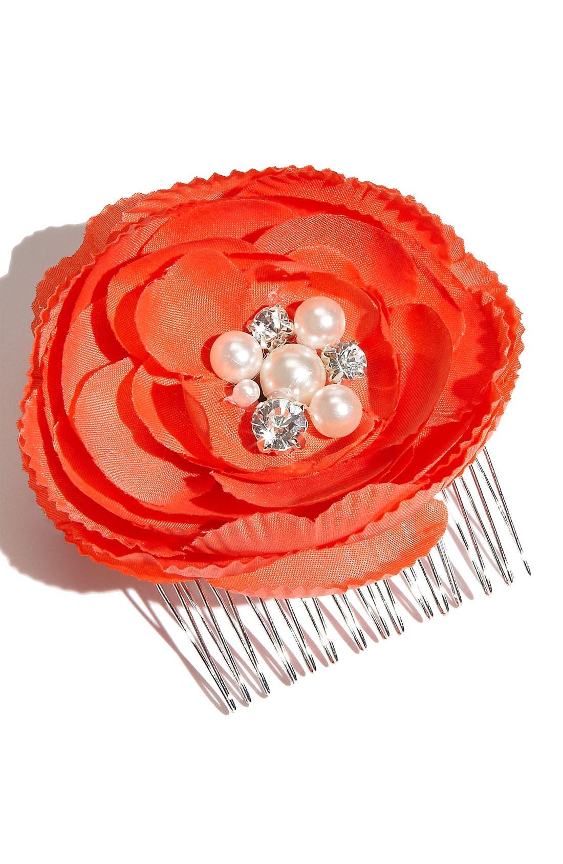 Main Image - Tasha Flower Hair Comb