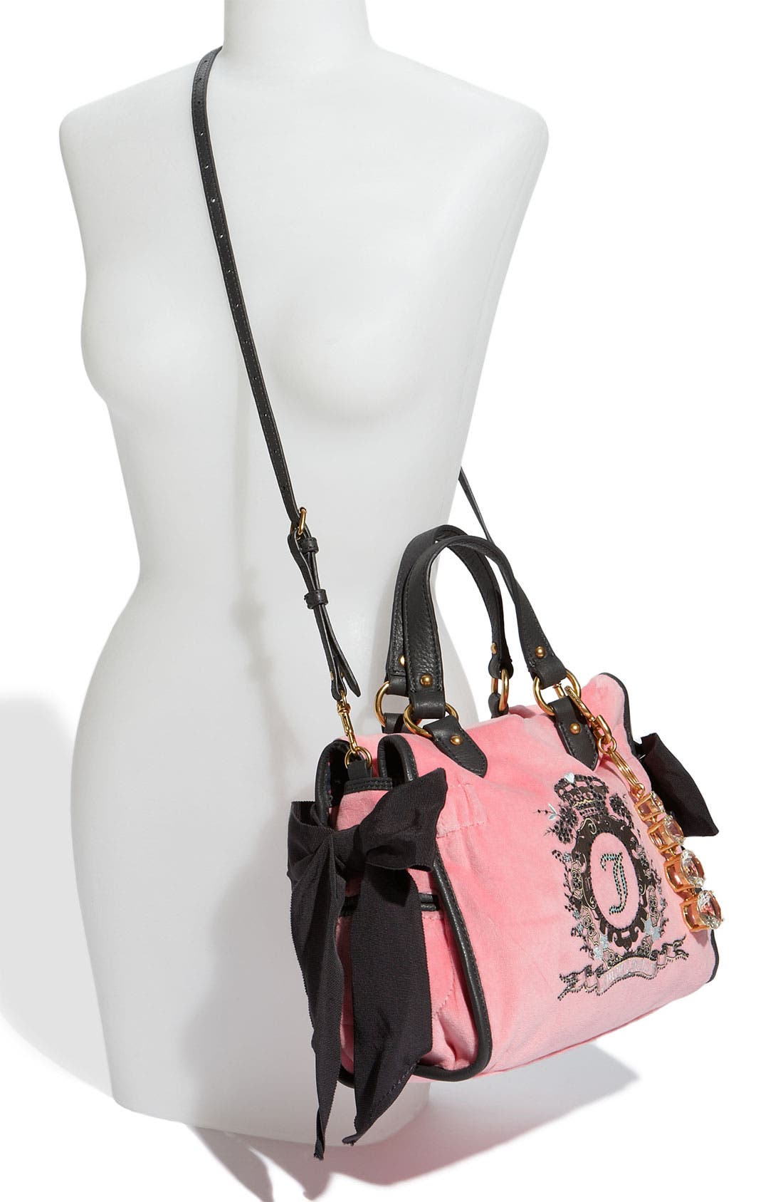 Alternate Image 2  - Juicy Couture 'The Cameo Miss Daydreamer - Small' Velour Tote