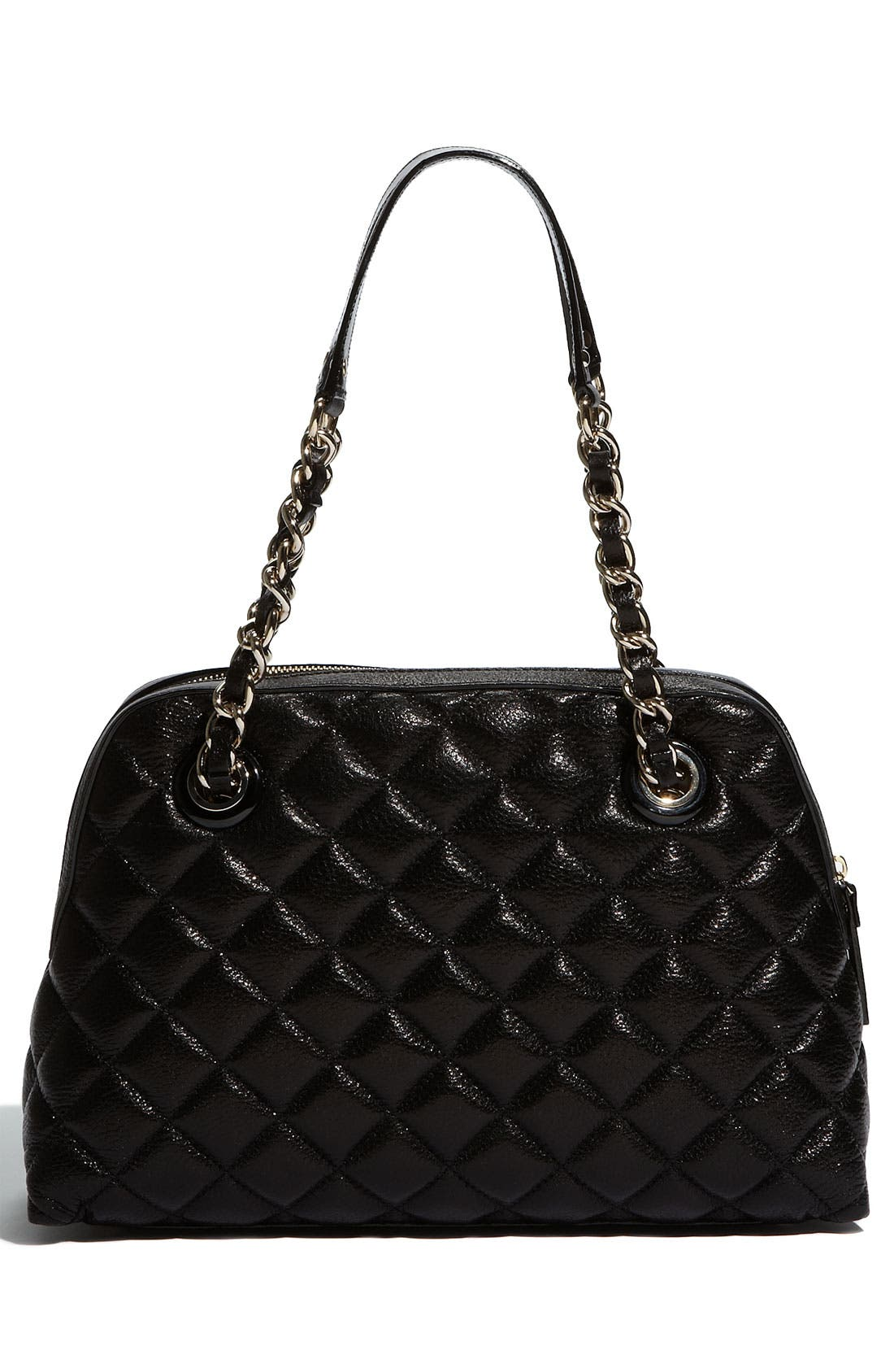 Alternate Image 4  - kate spade new york 'gold coast - georgina' quilted metallic shopper, medium
