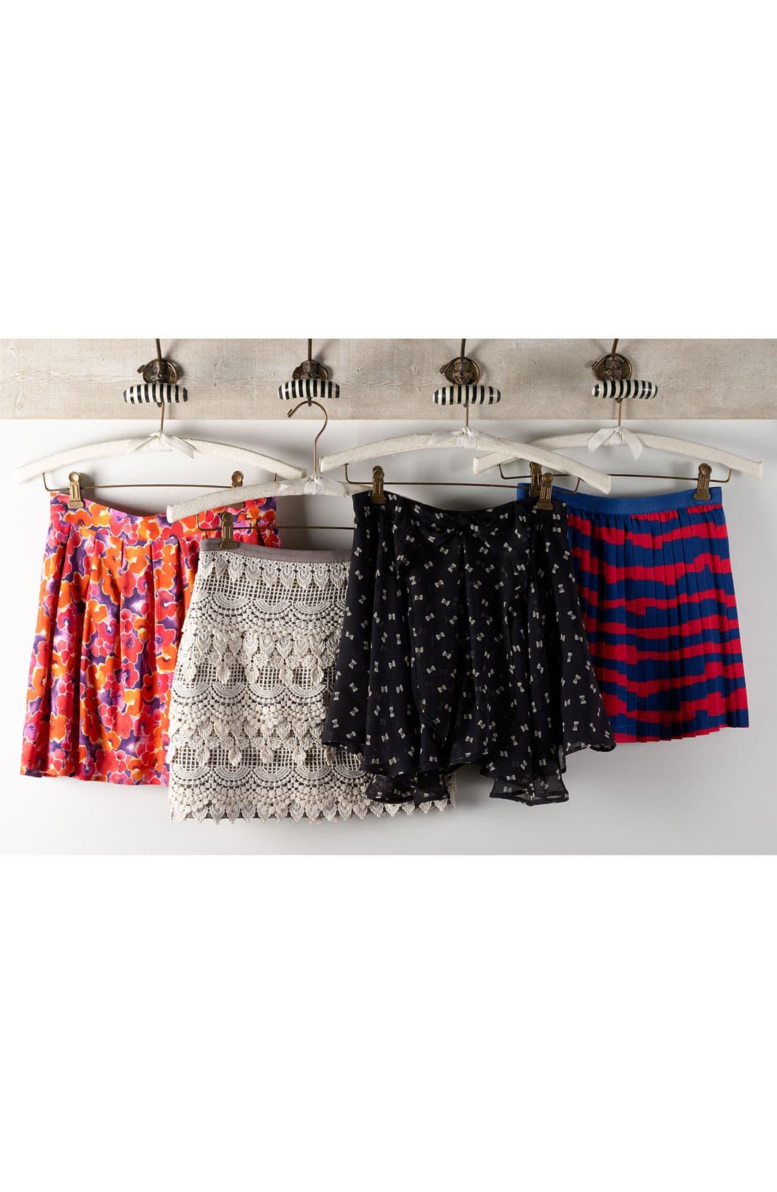Alternate Image 4  - Lily White Chiffon Skirt (Juniors)