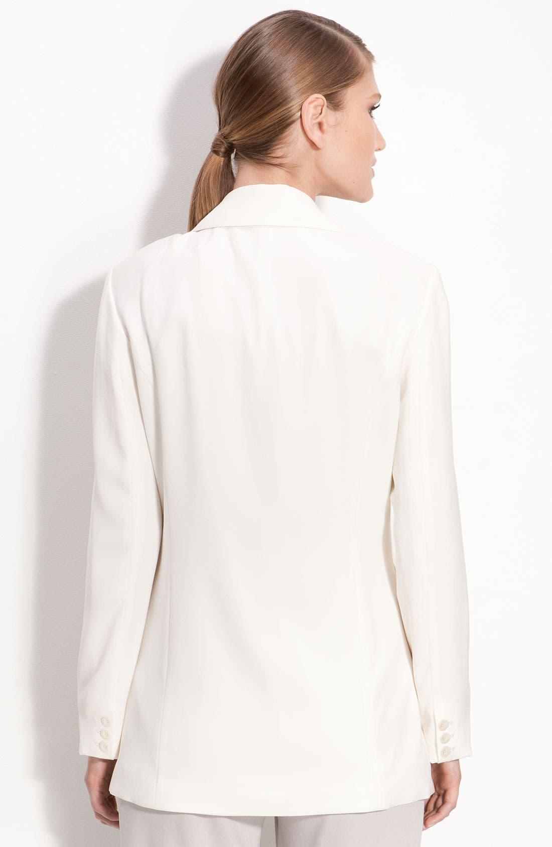 Alternate Image 2  - St. John Collection Easy Fit Blazer