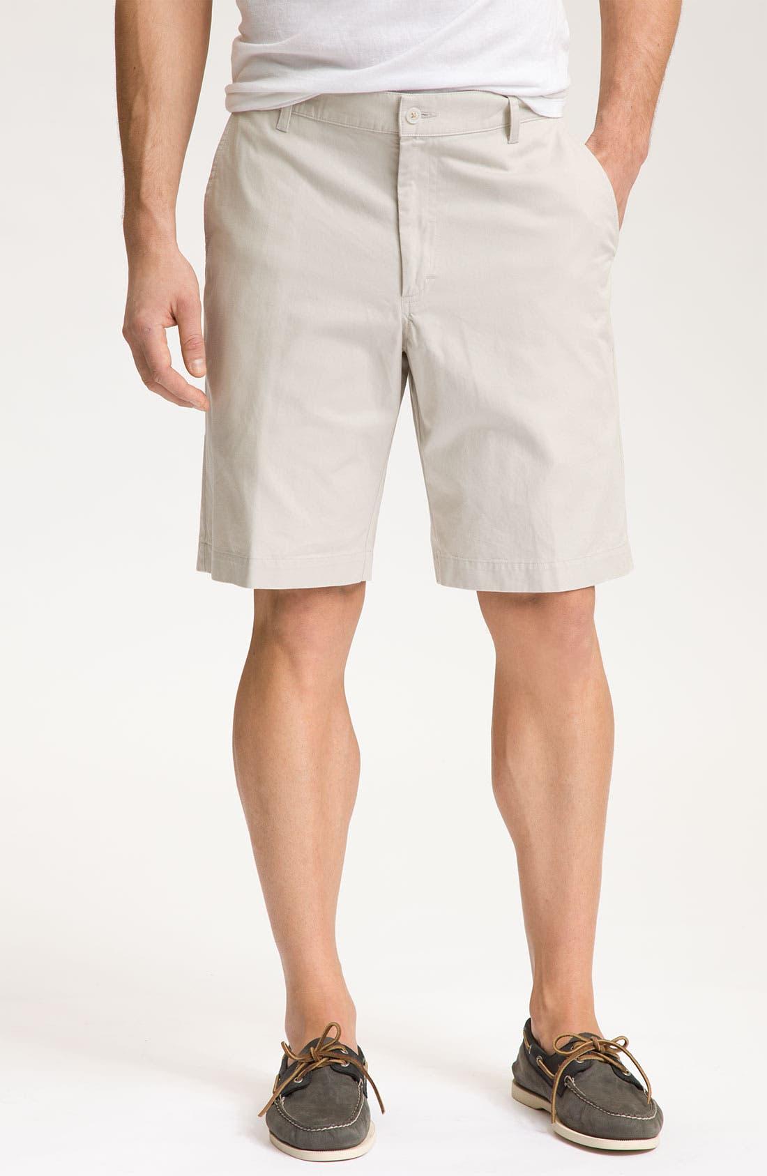 Alternate Image 1 Selected - Bill's Khakis 'Parker' Flat Front Shorts
