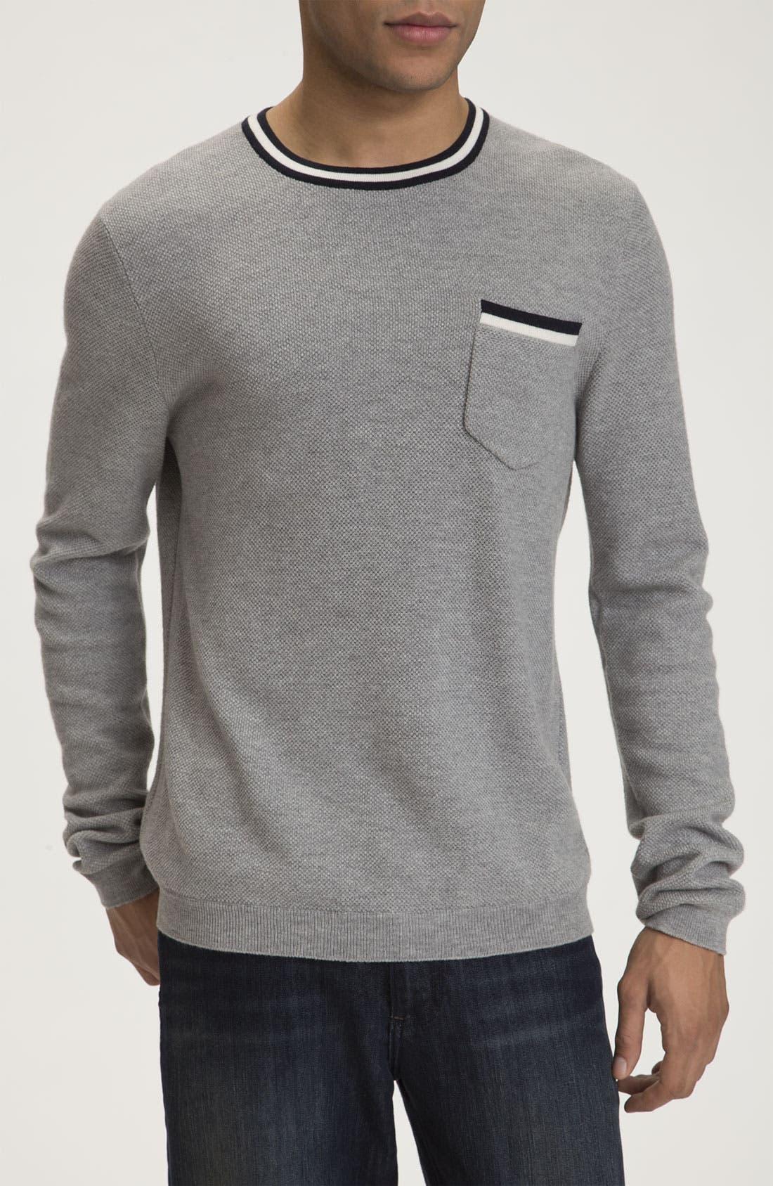 Alternate Image 1 Selected - rag & bone 'Franklin' Crewneck Sweater