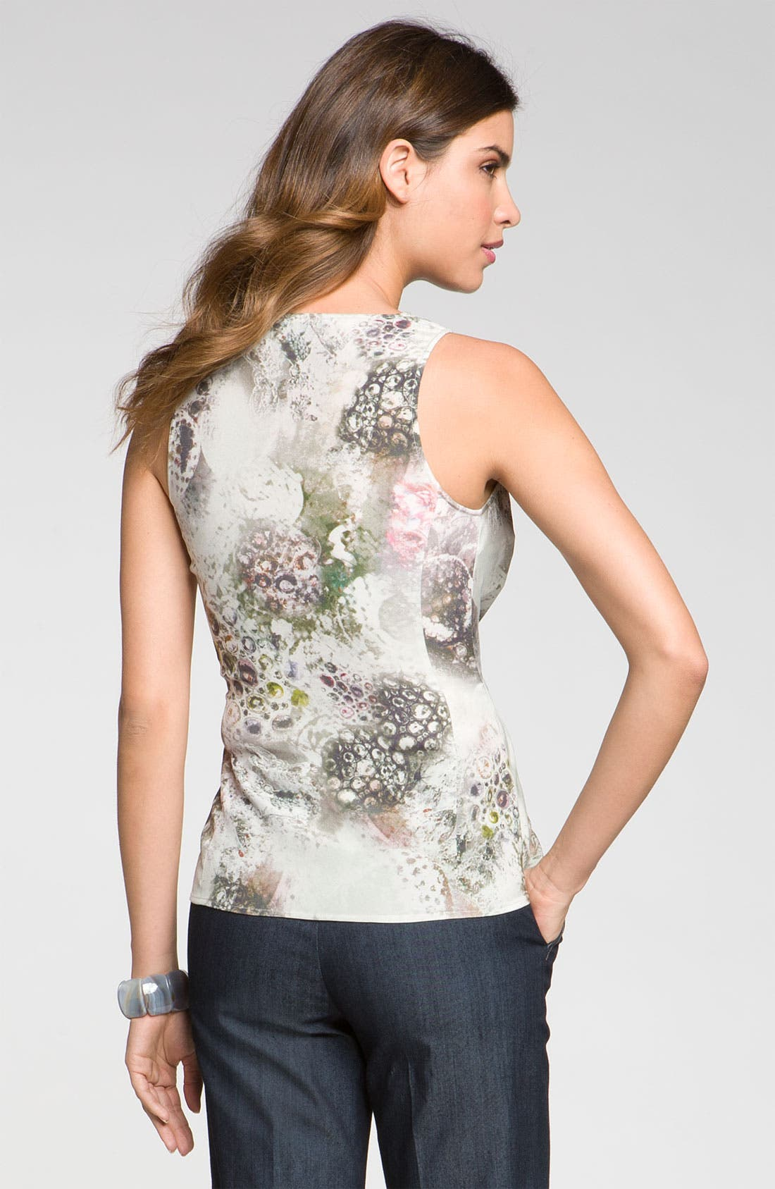 Alternate Image 3  - St. John Collection 'Bijoux' Print Top