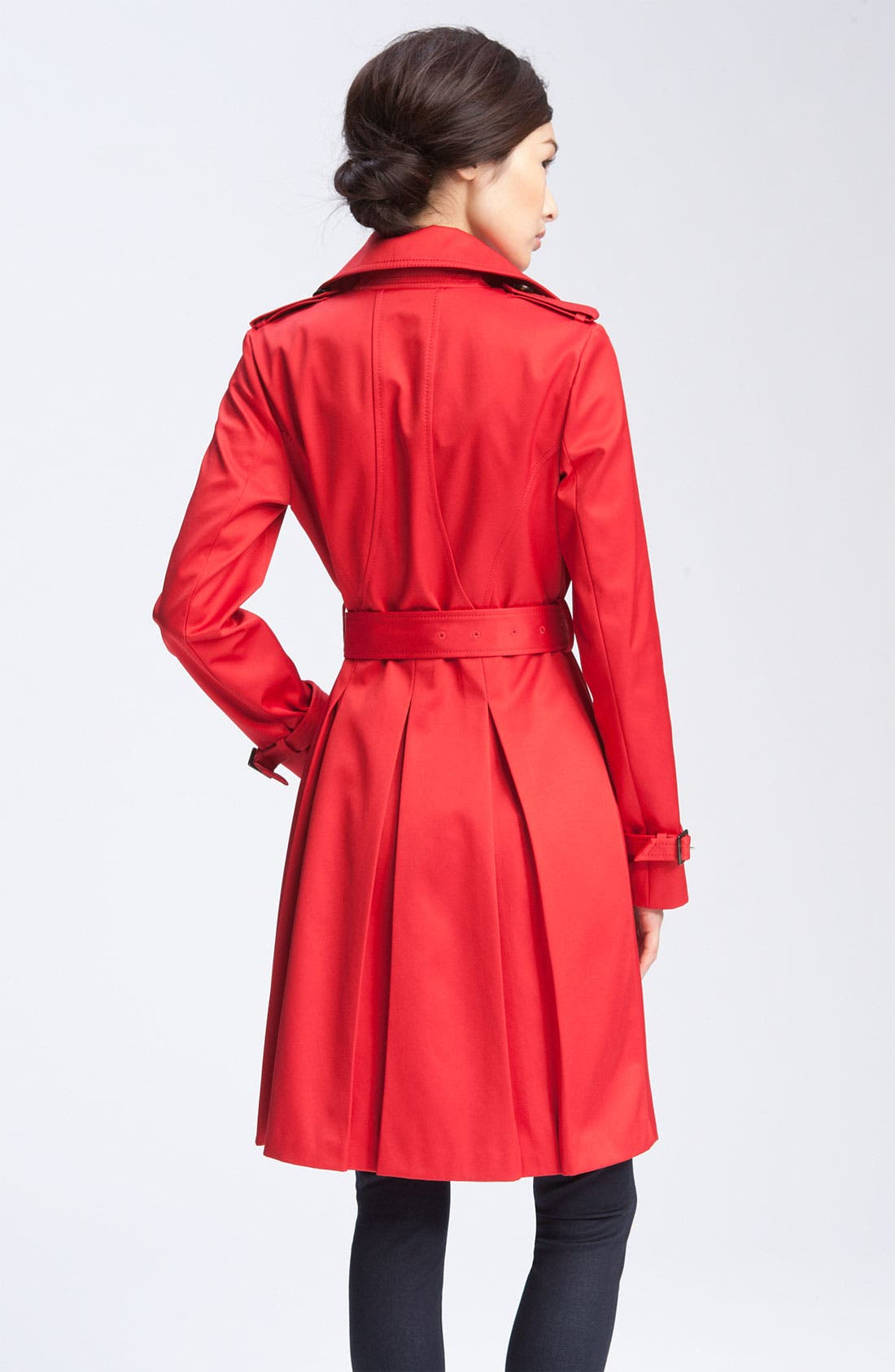 Alternate Image 2  - Dawn Levy Double Breasted Trench Coat