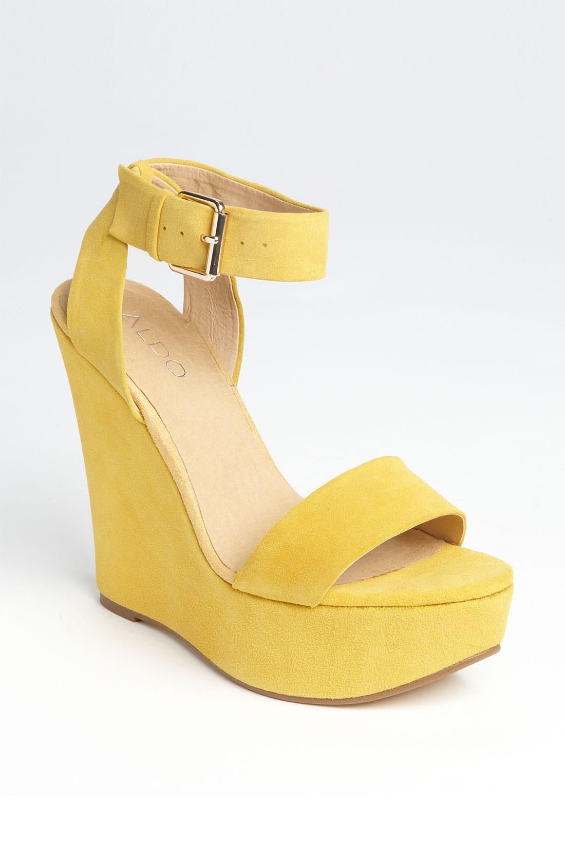 Alternate Image 1 Selected - ALDO 'Harvat' Platform Sandal
