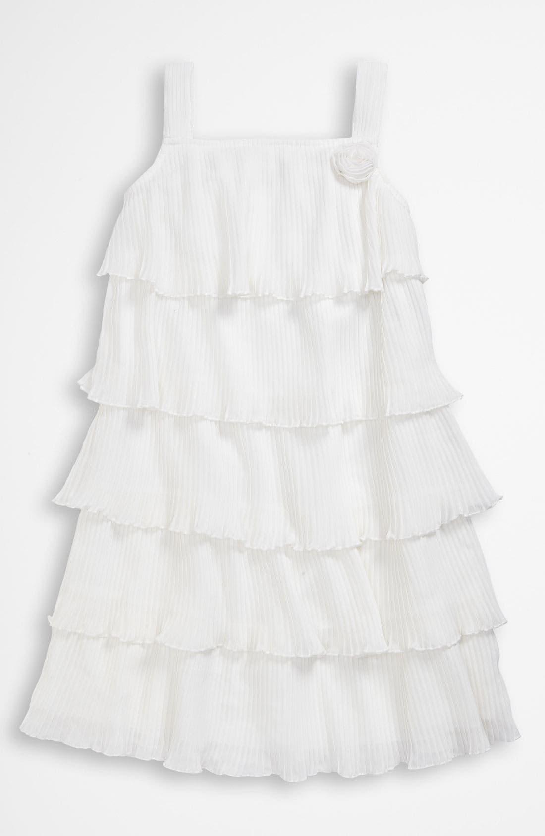 Main Image - United Colors of Benetton Kids Ruffle Dress (Little Girls & Big Girls)
