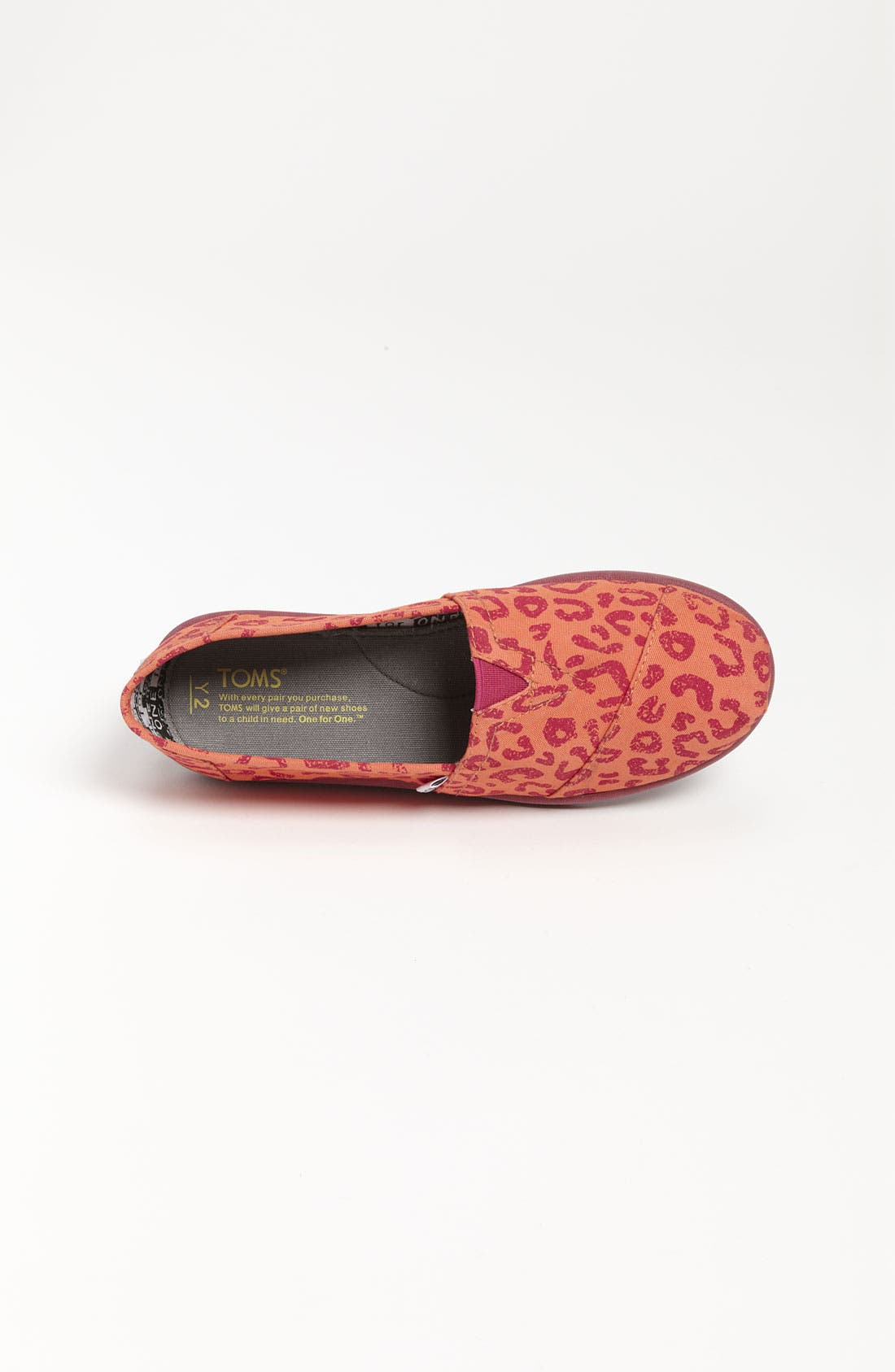 Alternate Image 3  - TOMS 'Classic Youth - Brushed Leopard' Slip-On (Toddler, Little Kid & Big Kid) (Nordstrom Exclusive)
