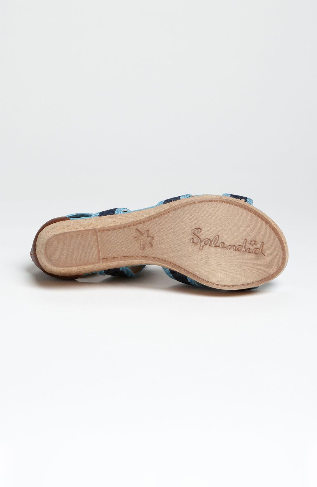 Alternate Image 4  - Splendid 'Wishful' Platform Sandal