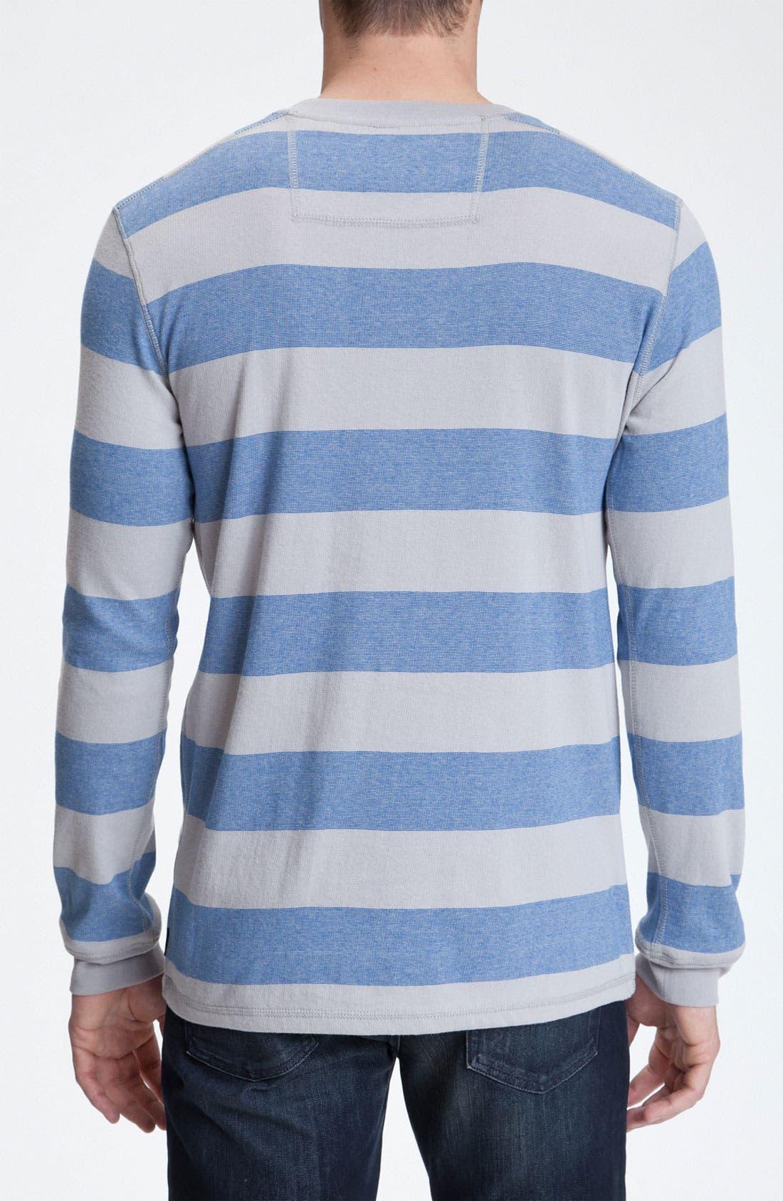 Alternate Image 2  - Quiksilver Long Sleeve Crewneck Shirt