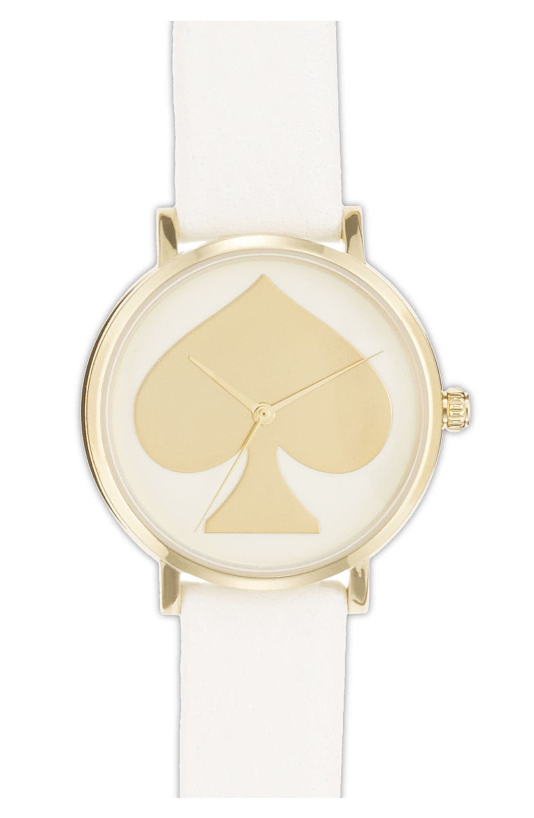 Main Image - kate spade new york 'metro' patterned dial watch, 34mm