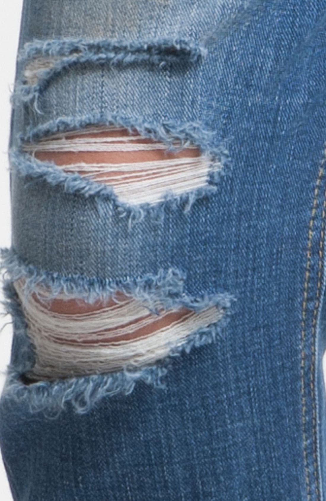 Alternate Image 4  - Joe's 'Easy Fit' Destroyed Crop Jeans (Penelope)