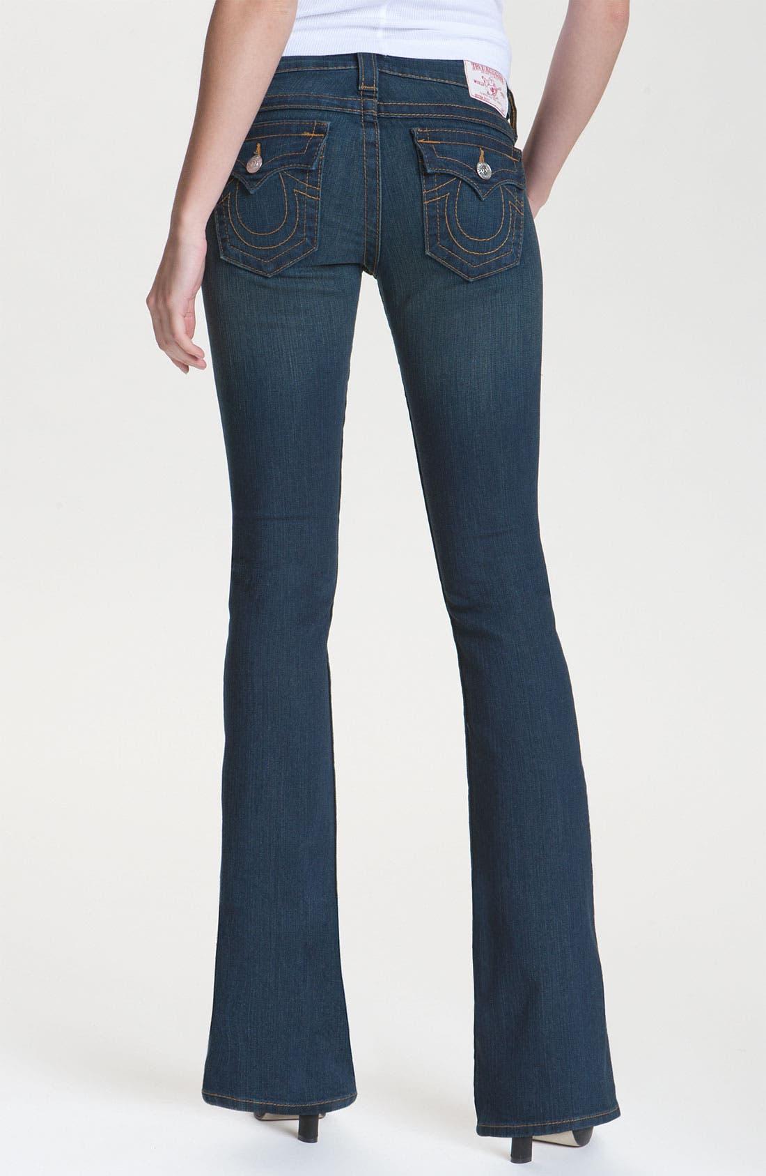 Alternate Image 2  - True Religion Brand Jeans 'Becky' Bootcut Jeans (Vera Cruz) (Petite)