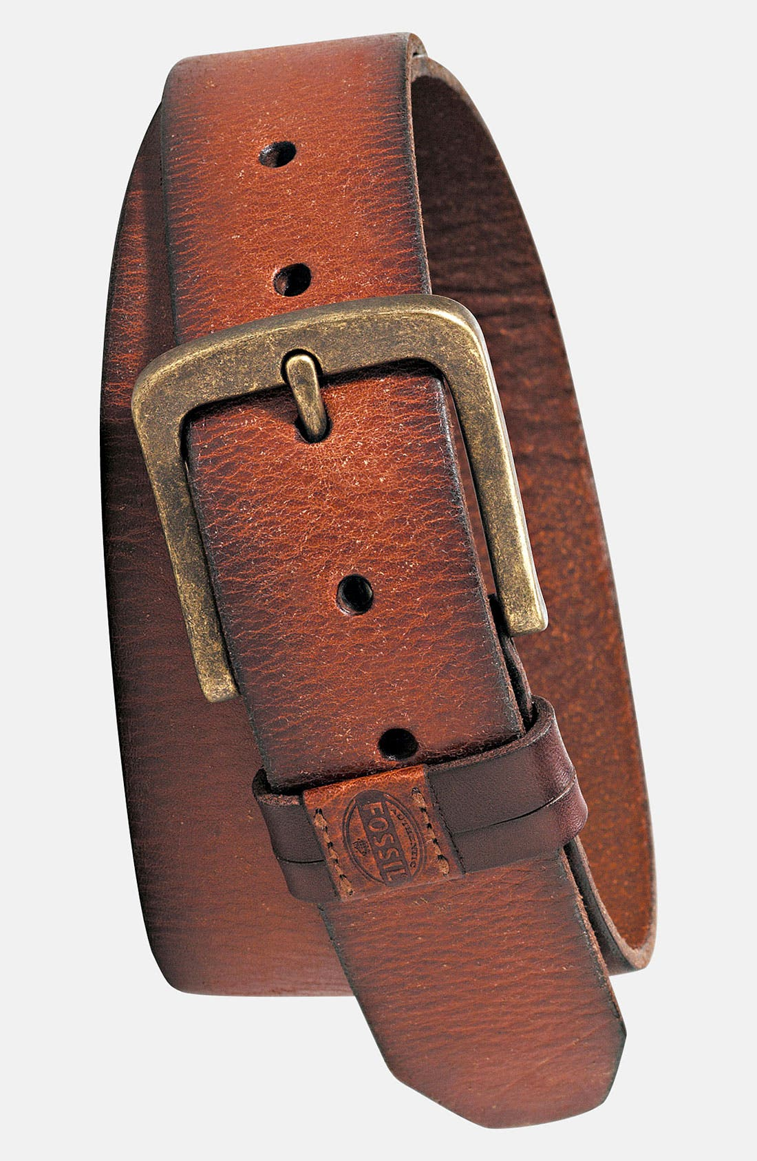 Main Image - Fossil 'Jakes' Leather Belt