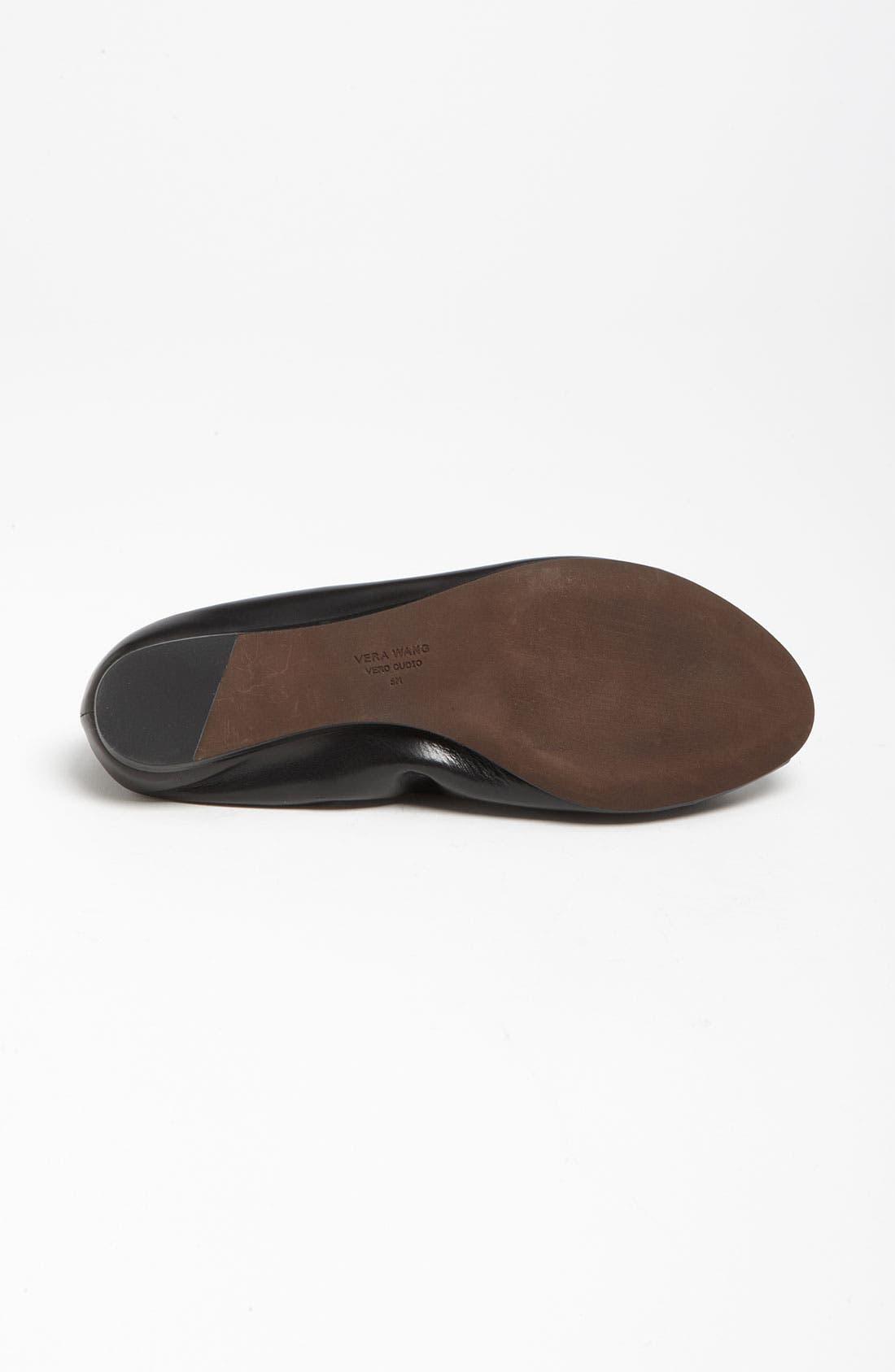 Alternate Image 4  - Vera Wang Footwear 'Lanelle' Hidden Wedge Flat (Nordstrom Exclusive)