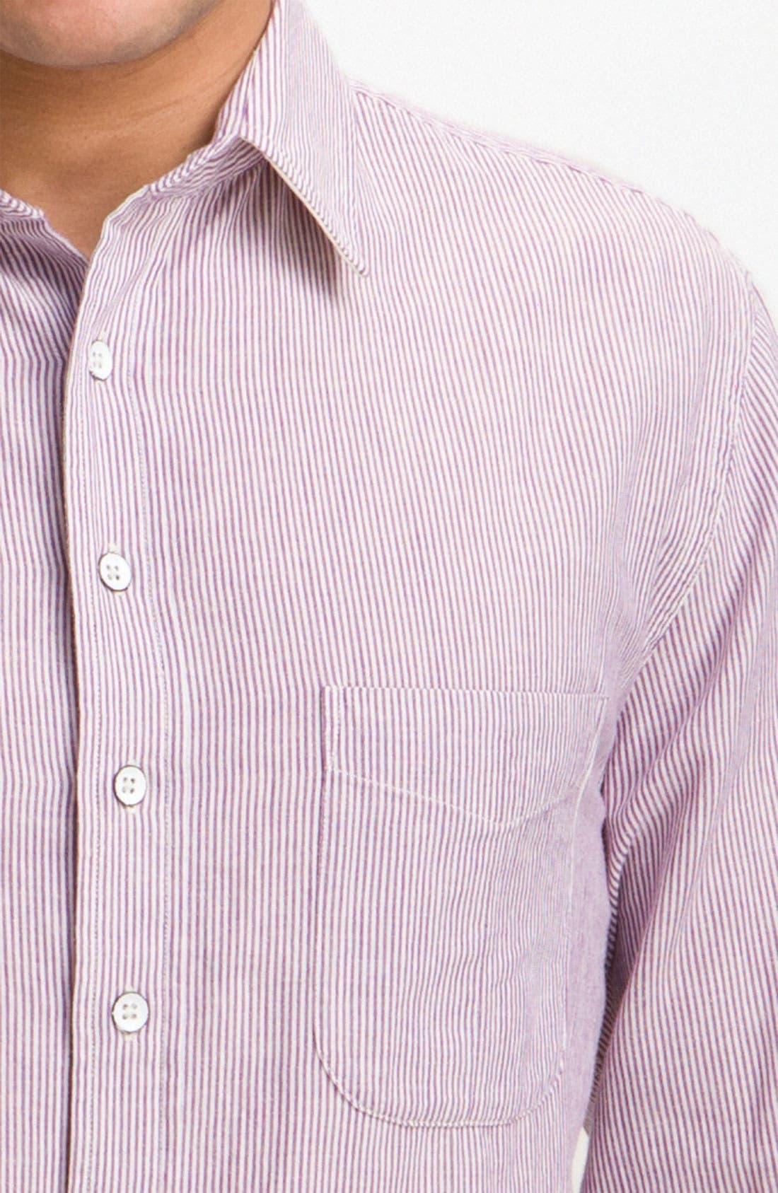 Alternate Image 3  - rag & bone Stripe Sport Shirt