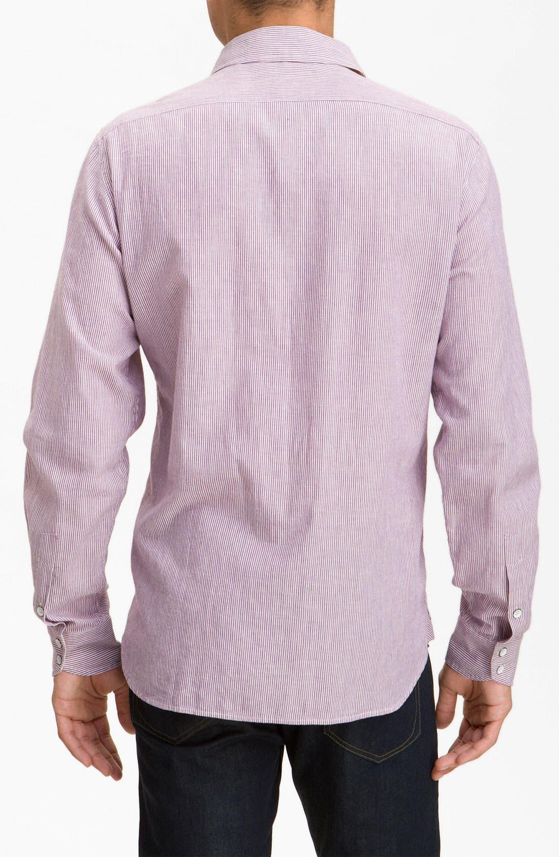 Alternate Image 2  - rag & bone Stripe Sport Shirt