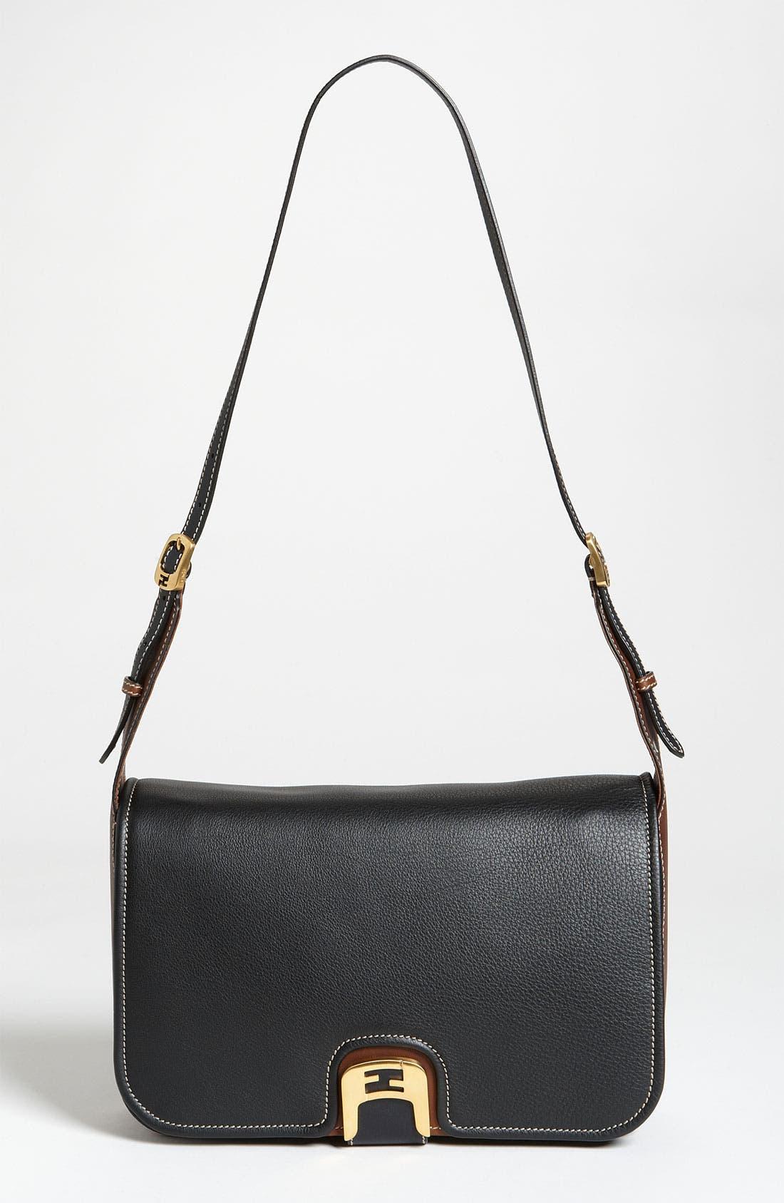 Alternate Image 1 Selected - Fendi 'Chameleon' Leather Shoulder Bag